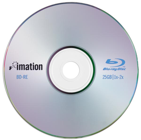 Disc bluray cu o capacitate de 25GB