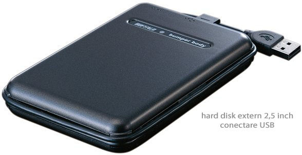 Hard extern 2.5 interfata USB