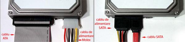 Cabluri ATA vs SATA